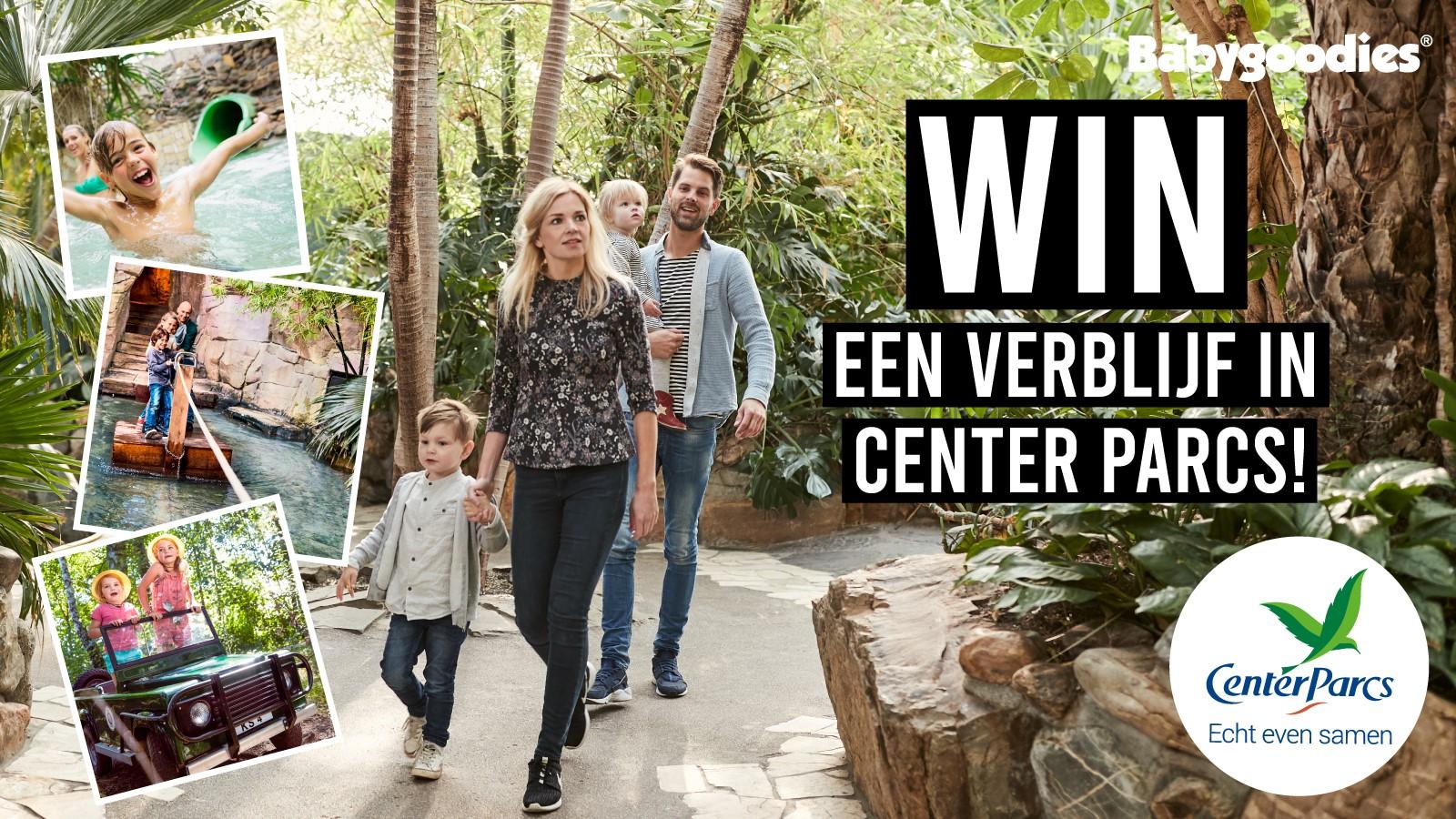 Win een verblijf in CenterParcs!