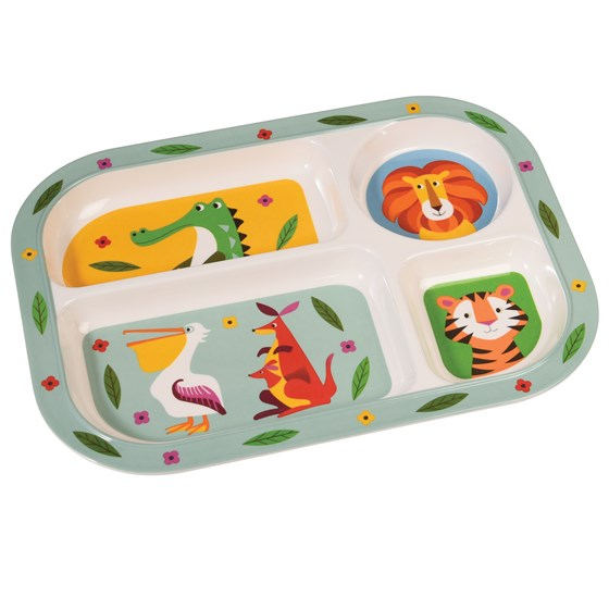 Melamine Bord Colourful Creatures