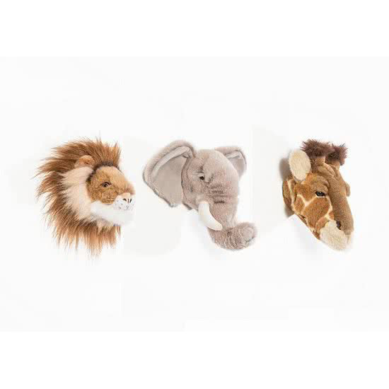Giftbox Wild & Soft Safari - Olifant Leeuw Giraf