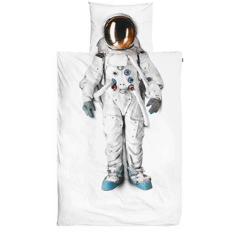 Snurk dekbedovertrek Astronaut - 140x220