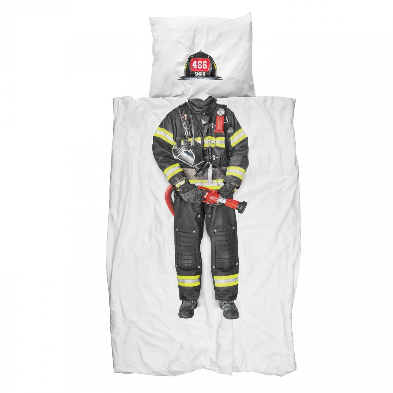 Drap Snurk Pompier - 140x220
