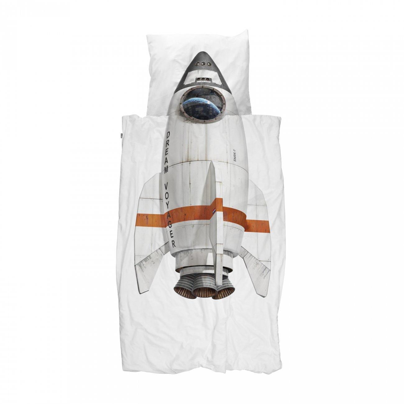 Snurk dekbedovertrek Rocket - 140x220