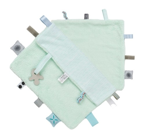 Labeldoekje Snoozebaby - Misty Green