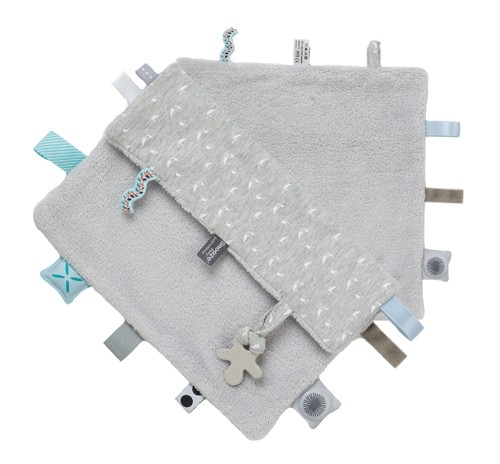 Labeldoekje Snoozebaby - Lovely Grey