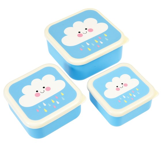 Set De 3 Boites Casse-Croute Happy Cloud