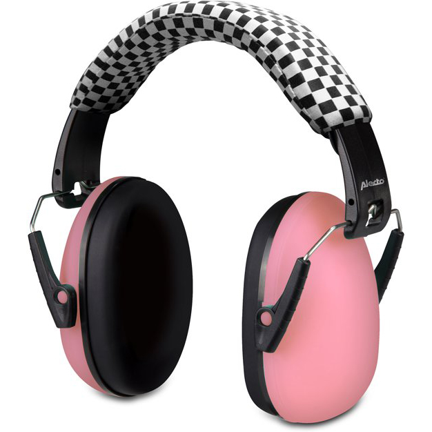 Alecto casque protection auditive BV-71 rose