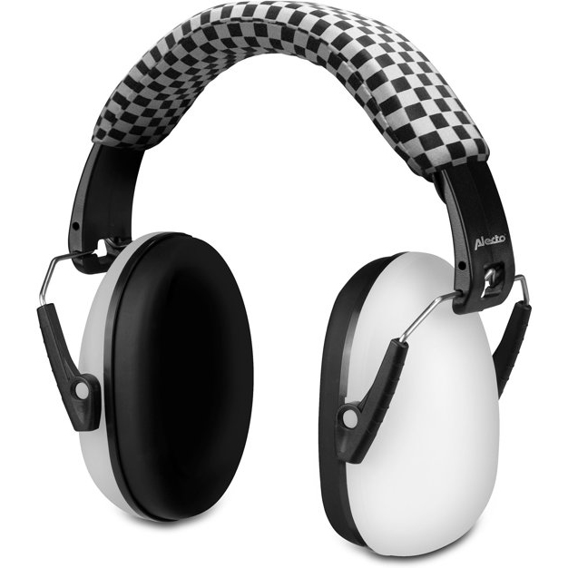 Alecto casque protection auditive BV-71 blanche