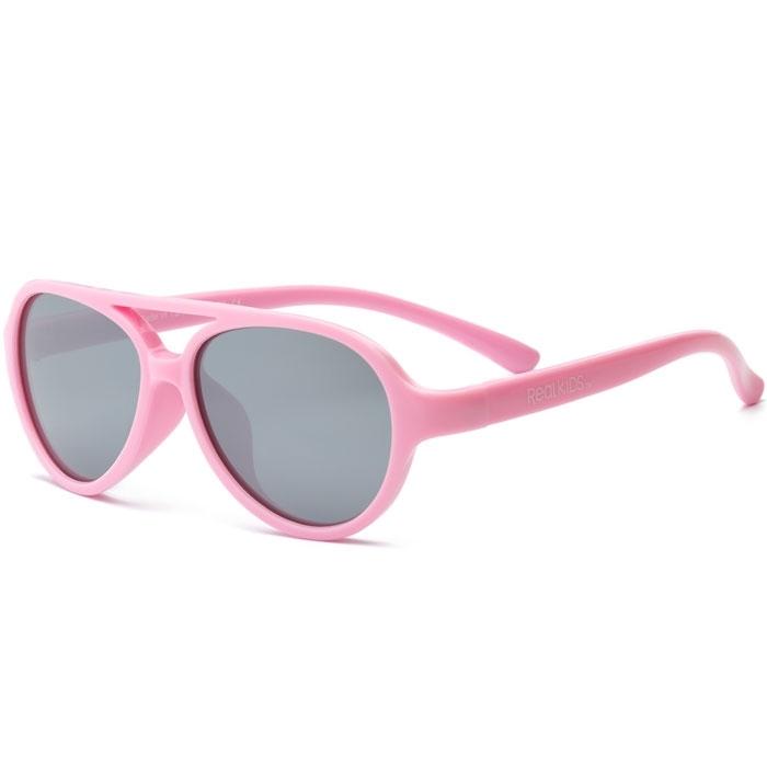 Real Kids - Sky - Lunettes de soleil enfant - protection 100% UVA & UVB - UV400 - Rose - taille 7 - 10 ans