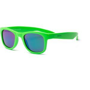 Real Kids - Explorer - Kinder zonnebril - 100% UVA & UVB bescherming UV400 - Royal Green - maat 7 jaar +