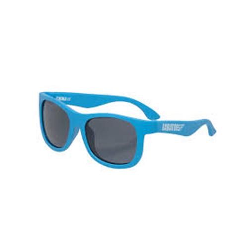 Real Kids - Surf - Kinder zonnebril - 100% UVA & UVB bescherming UV400 - Neon Blue - maat 7 jaar +