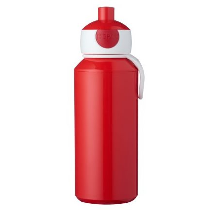 Gourde pop-up campus 400 ml - Rouge