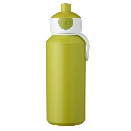 Gourde pop-up campus 400 ml - Lime vert