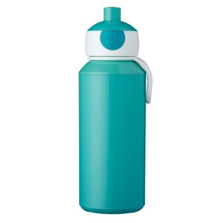 Gourde pop-up campus 400 ml - Turquoise