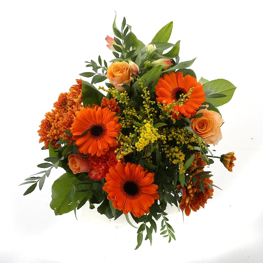 Bloemen 40cm: Kim Medium Oranje