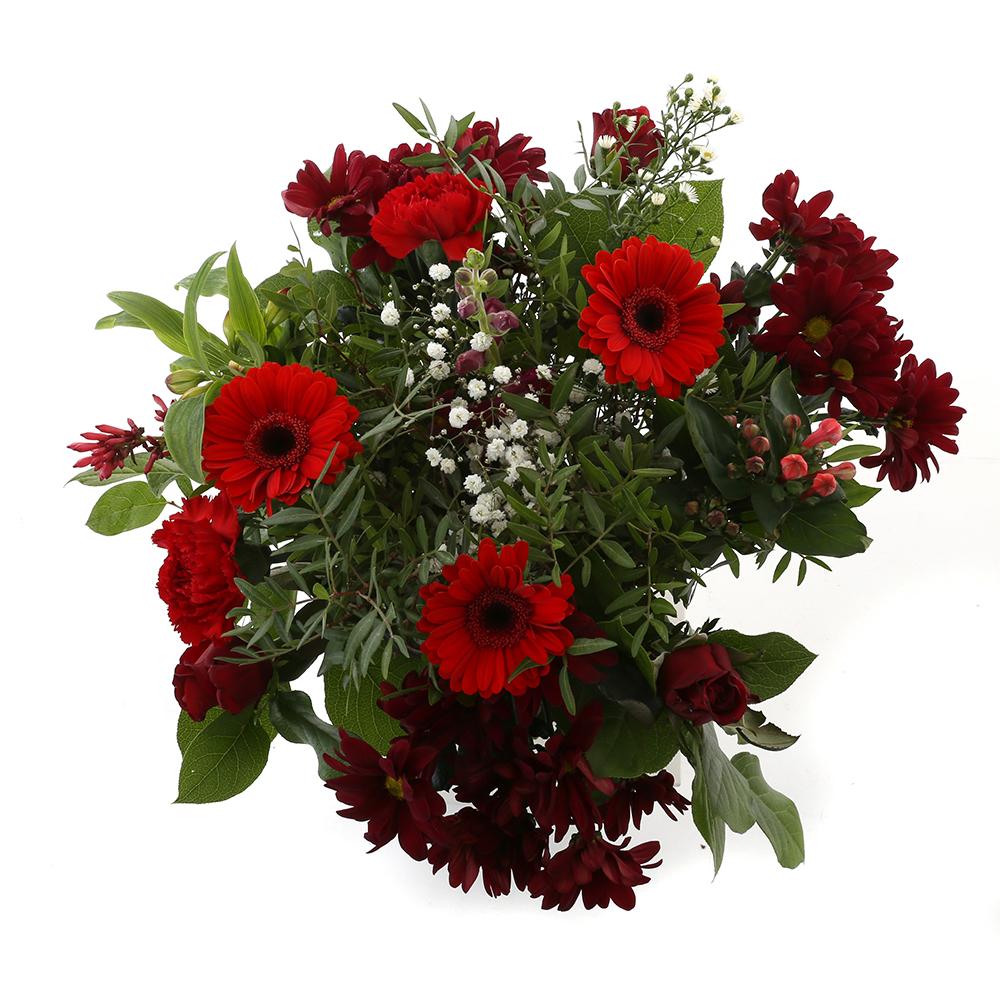 Bloemen 50cm: Kim Extra Large Red