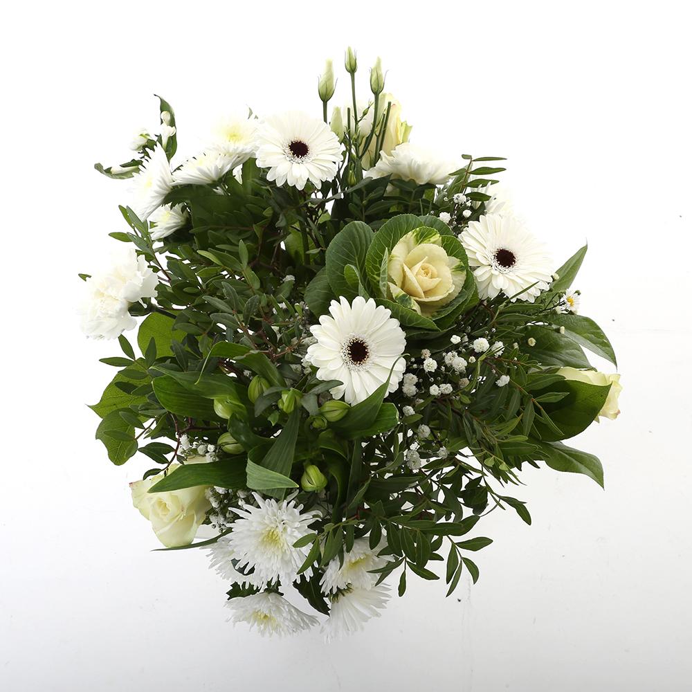 Bloemen 50cm: Kim Extra Large White