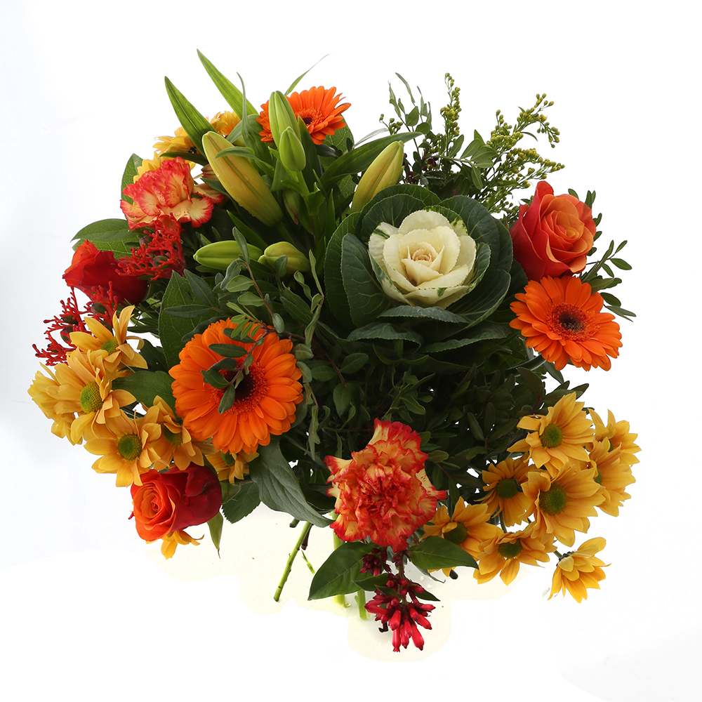 Bloemen 50cm: Kim Extra Large Orange