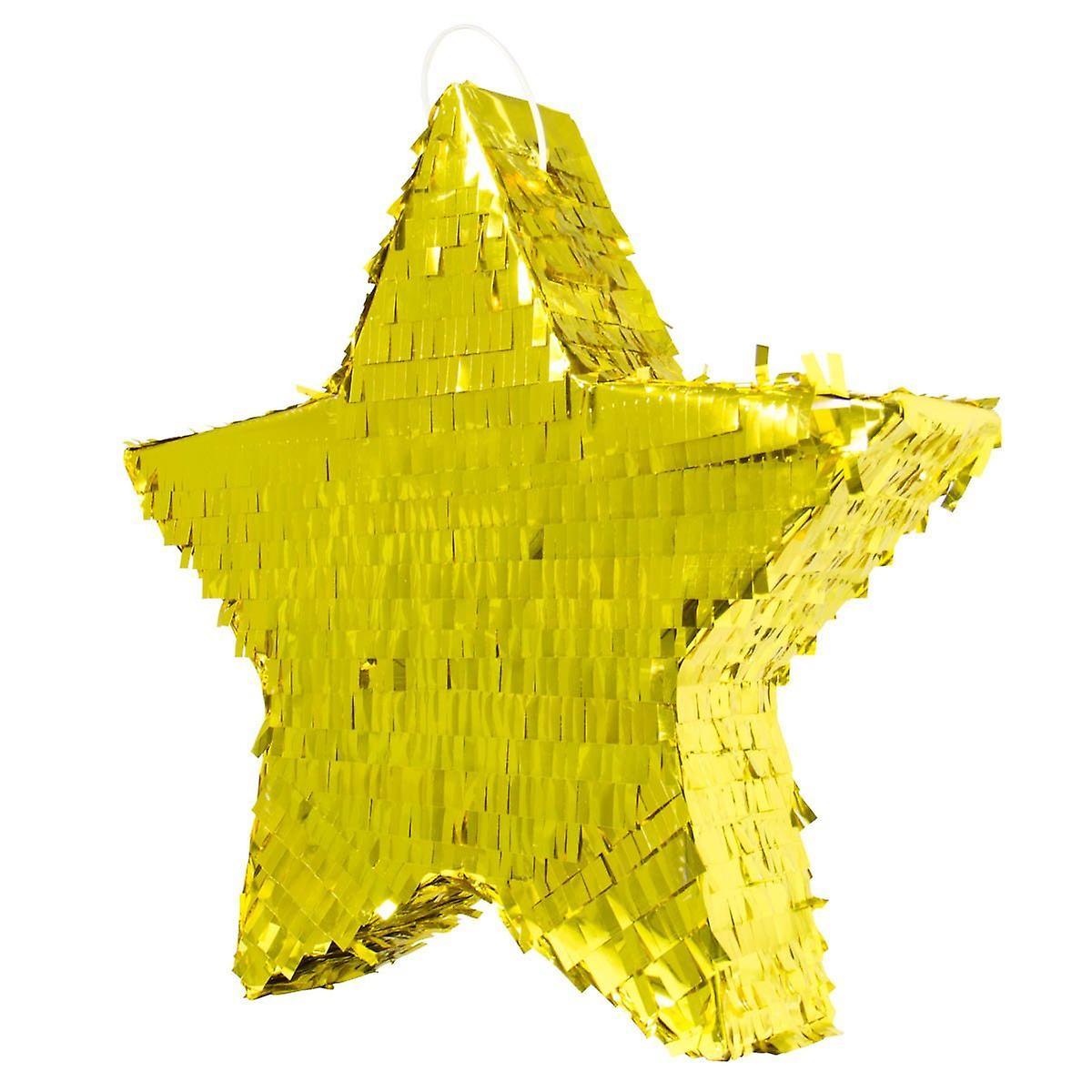 Piñata étoile Or