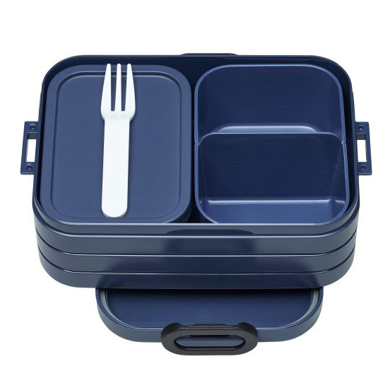 Bento Lunchbox Take a Break midi - Nordic Denim