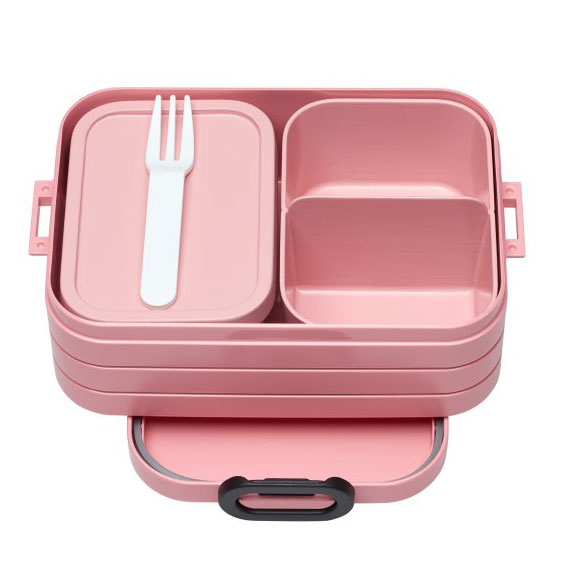 Bento Lunchbox Take a Break midi - Nordic Pink