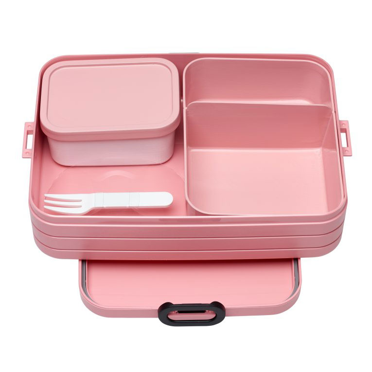 Bento Lunchbox Take a Break Large - Nordic Pink