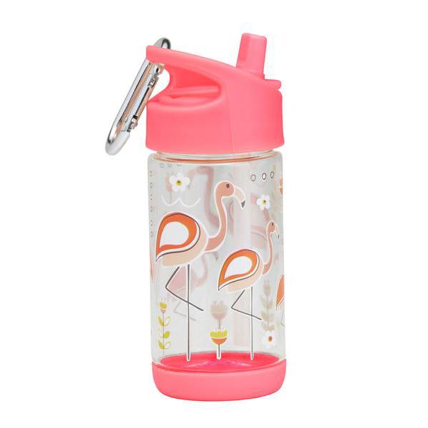 SugarBooger Drinkfles 350 ml Flamingo