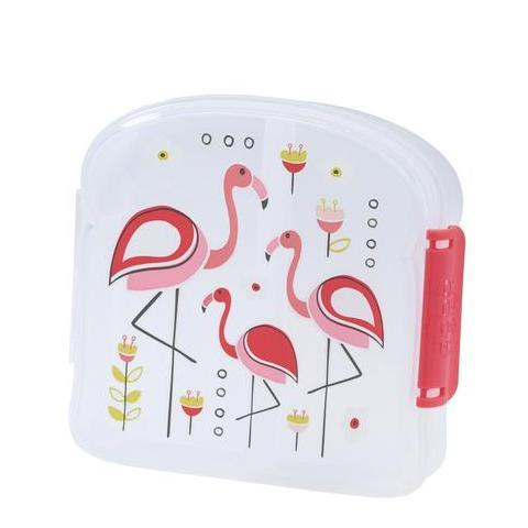 SugarBooger Lunchbox Small Flamingo
