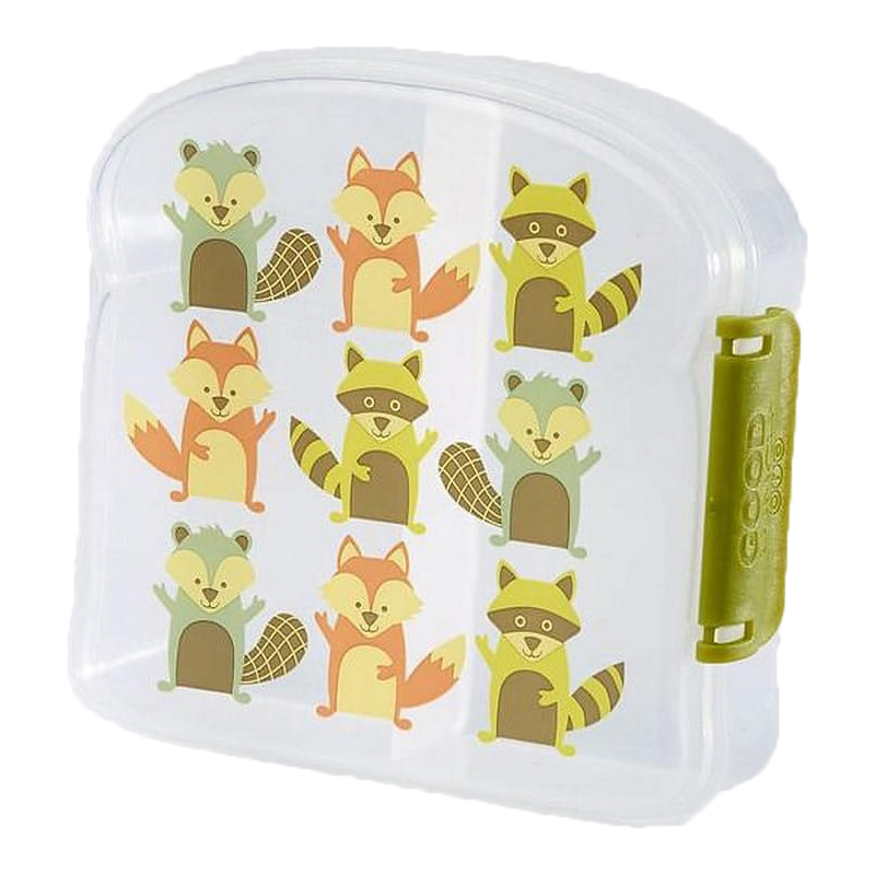 SugarBooger Lunchbox Small What Did The Fox Eat