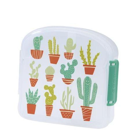 SugarBooger Lunchbox Small Happy Cactus