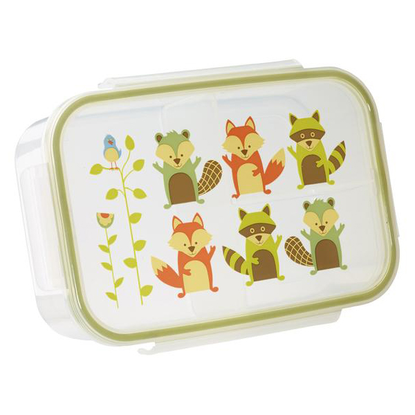 SugarBooger Bento Lunchbox What Did The Fox Eat