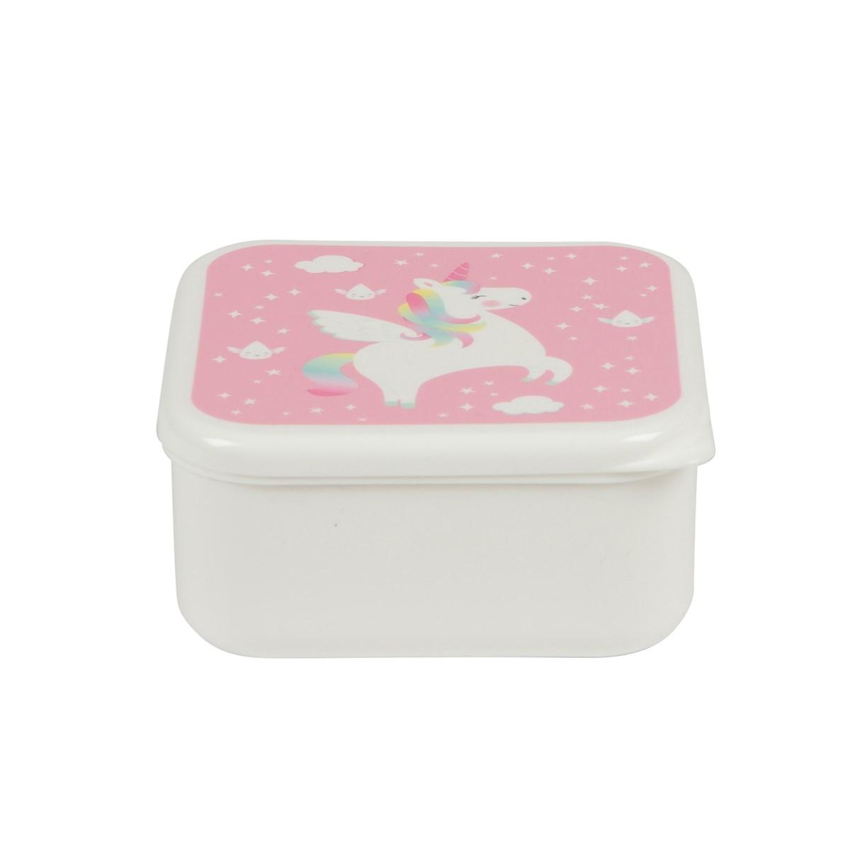 Lunchbox Eenhoorn Roze