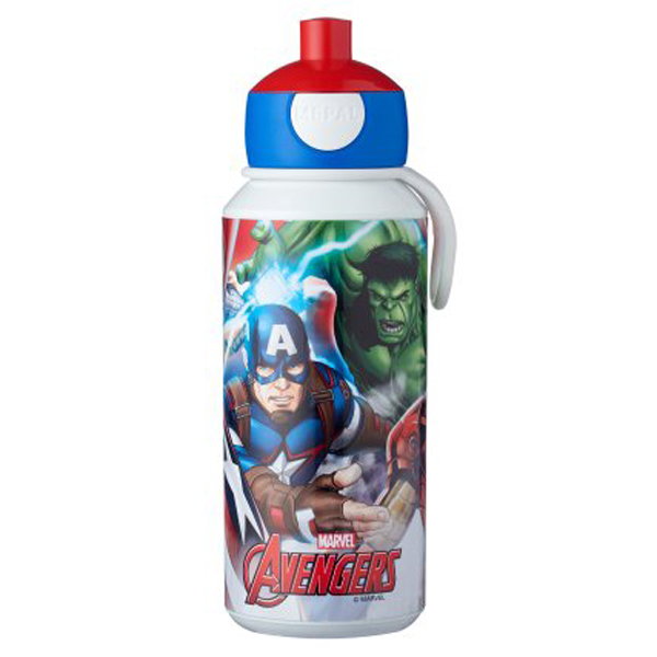 Gourde pop-up campus 400 ml - Avengers