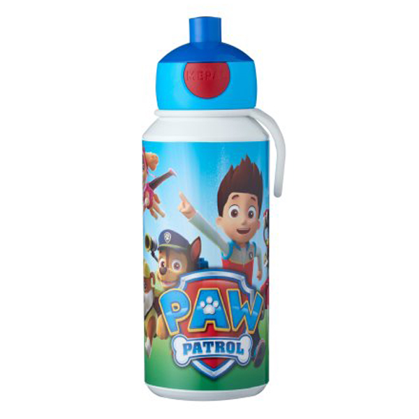 Gourde pop-up campus 400 ml - Paw Patrol
