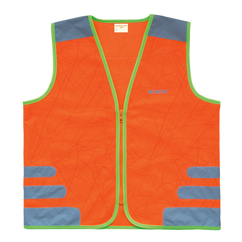 WOWOW gilet de sécurite à vélo Nutty Orange