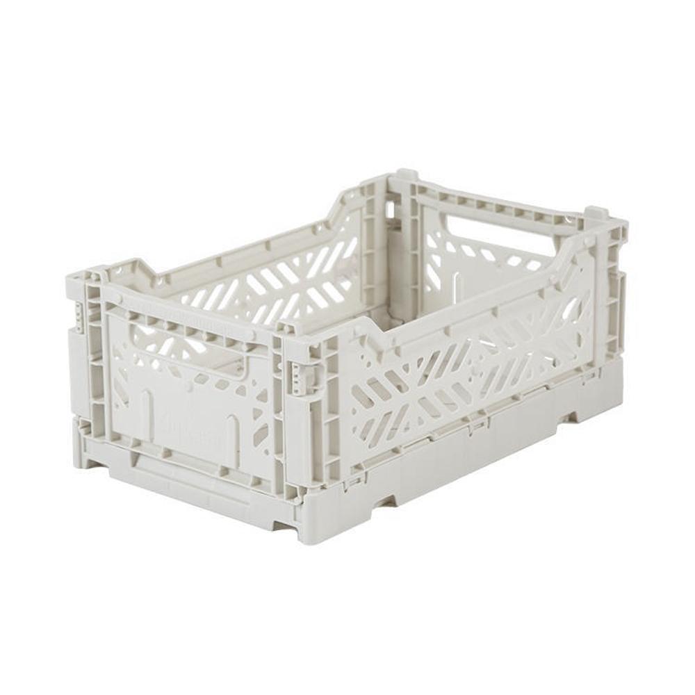 Eef Lillemor Folding Crate Mini - Lichtgrijs