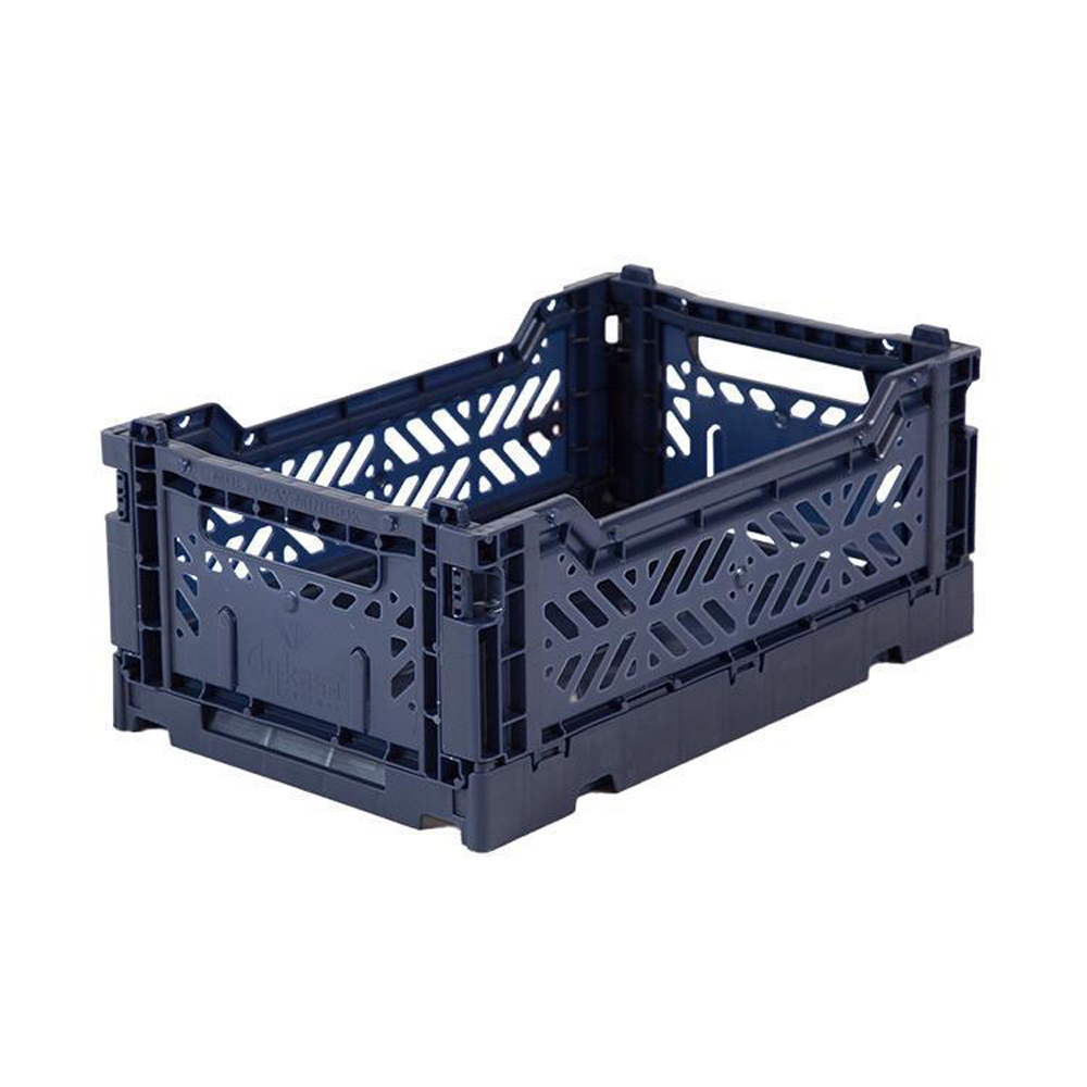 Eef Lillemor Folding Crate Mini - Navy