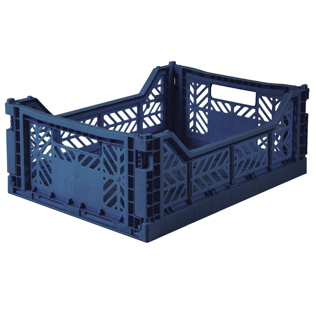 Eef Lillemor Folding Crate Midi - Navy
