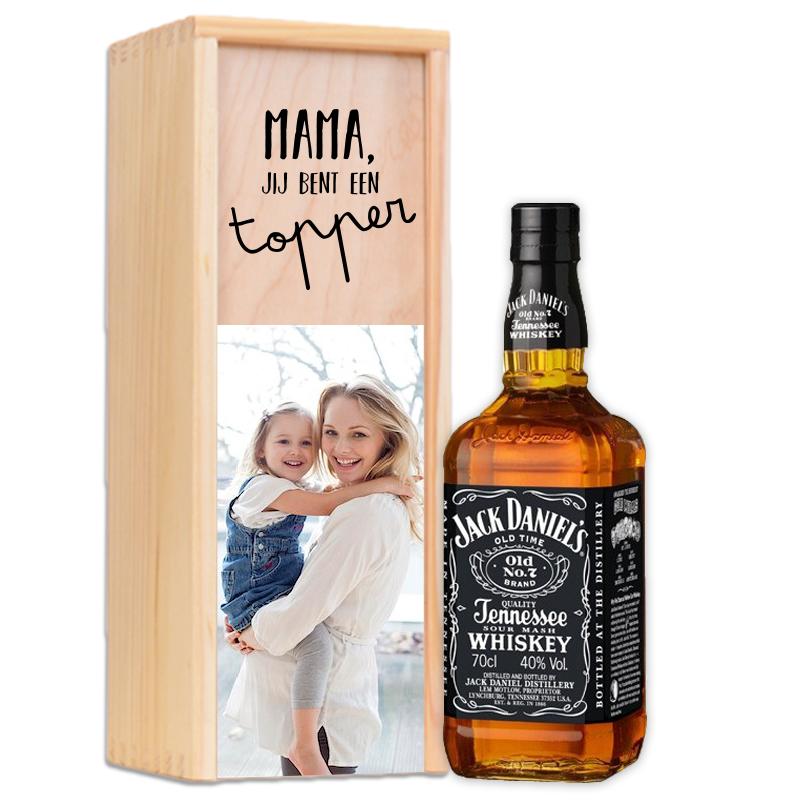 Coffret personnalisé pour Jack Daniels Tennessee Whiskey