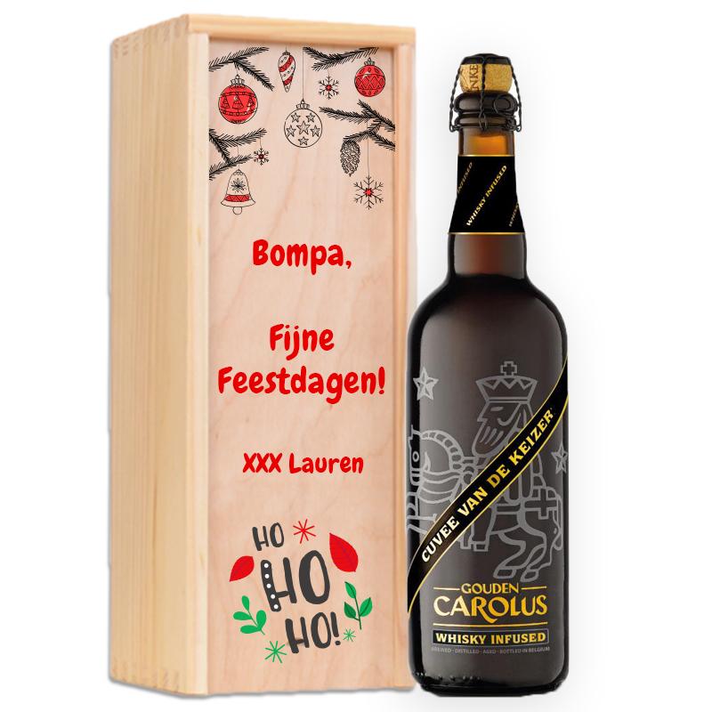 Gepersonaliseerd bierpakket Gouden Carolus Whisky Infused