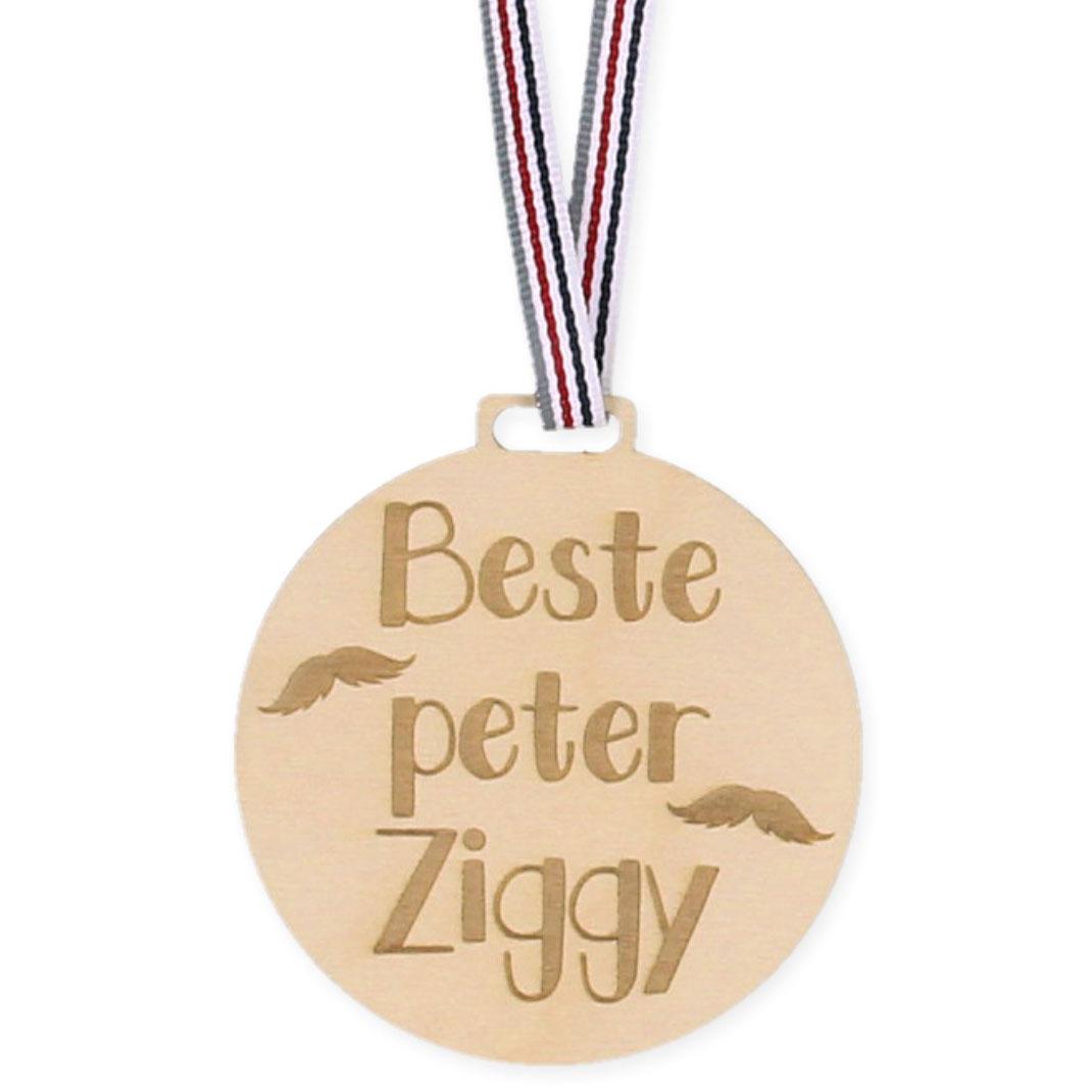 Houten Medaille - Beste Peter