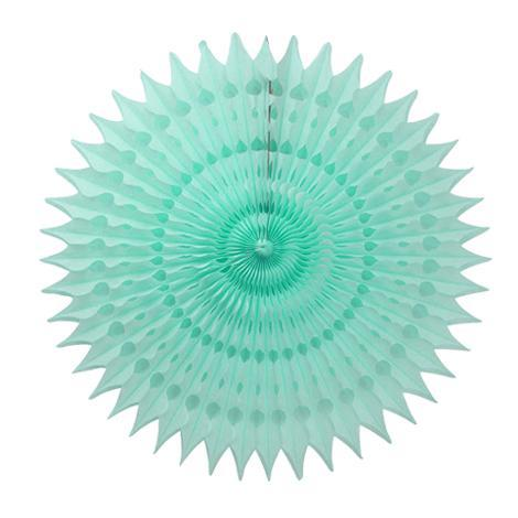 Honeycomb Fan - Mint 45 cm