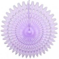 Honeycomb Fan - Lila 45 cm