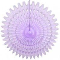 Rosace ajourée - violet 45cm