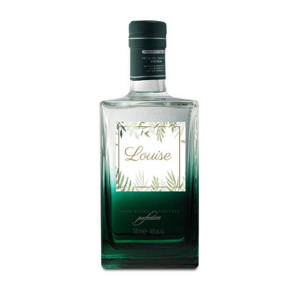 Mayfair Gin -  avec étiquette personnalisée