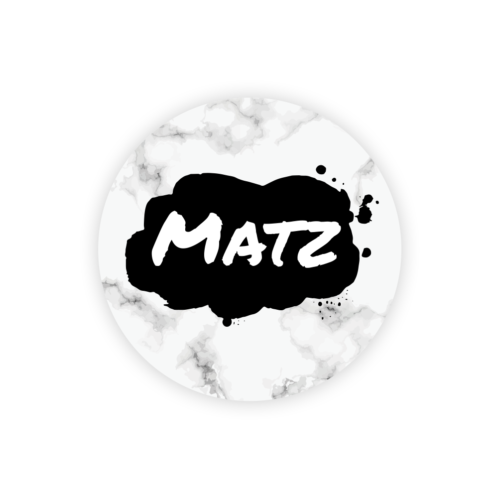 Sticker rond, 10 stuks, 3cm