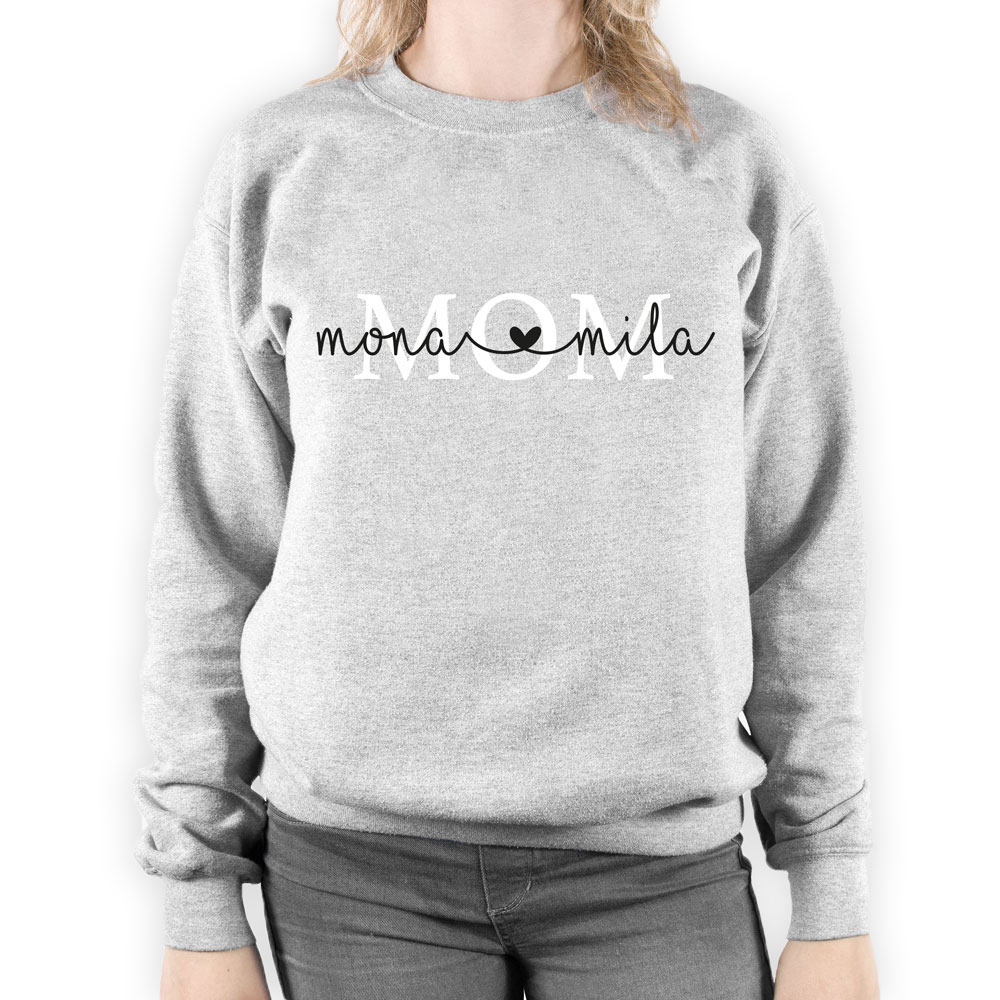 Mom sweater met namen