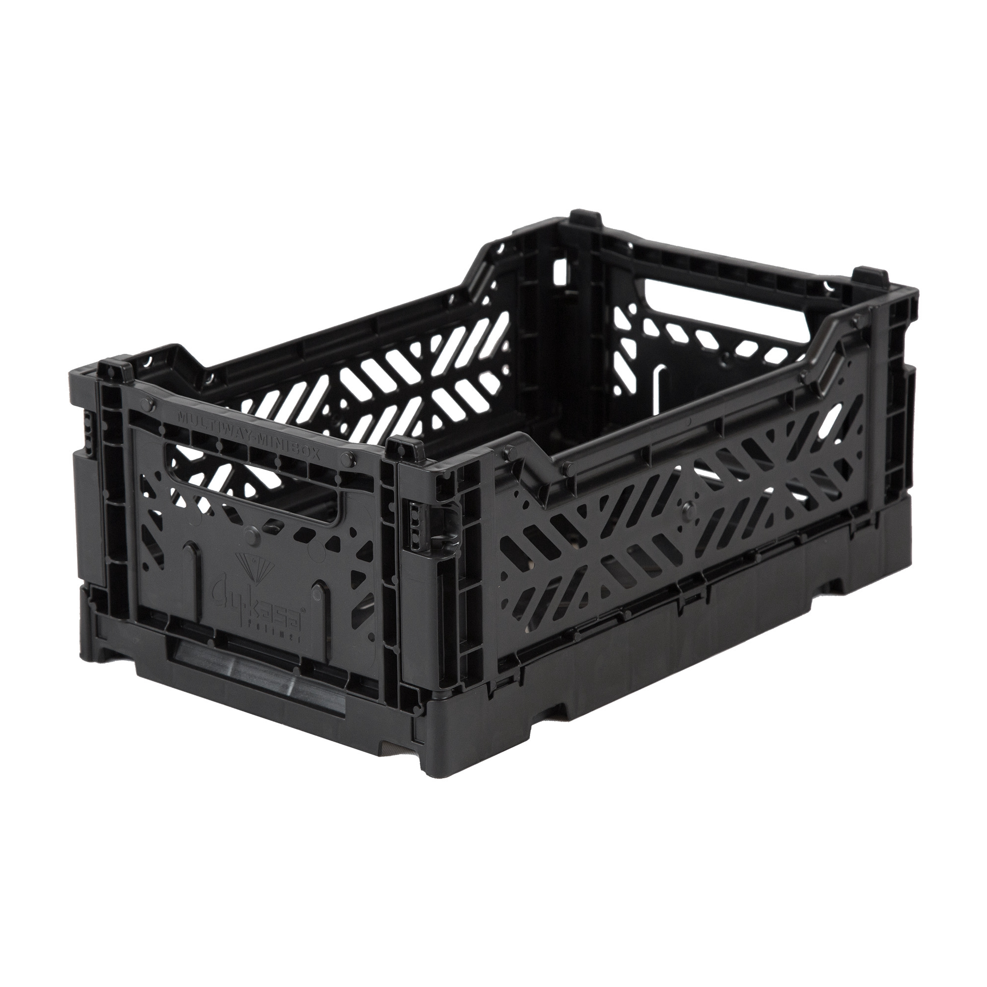 Eef Lillemor Folding Crate Mini - Black