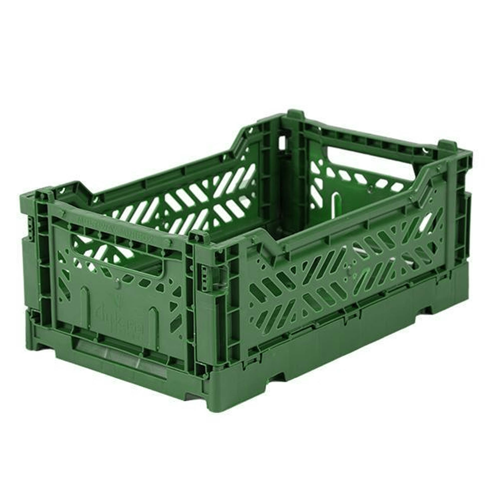 Eef Lillemor Folding Crate Mini - Dark Green