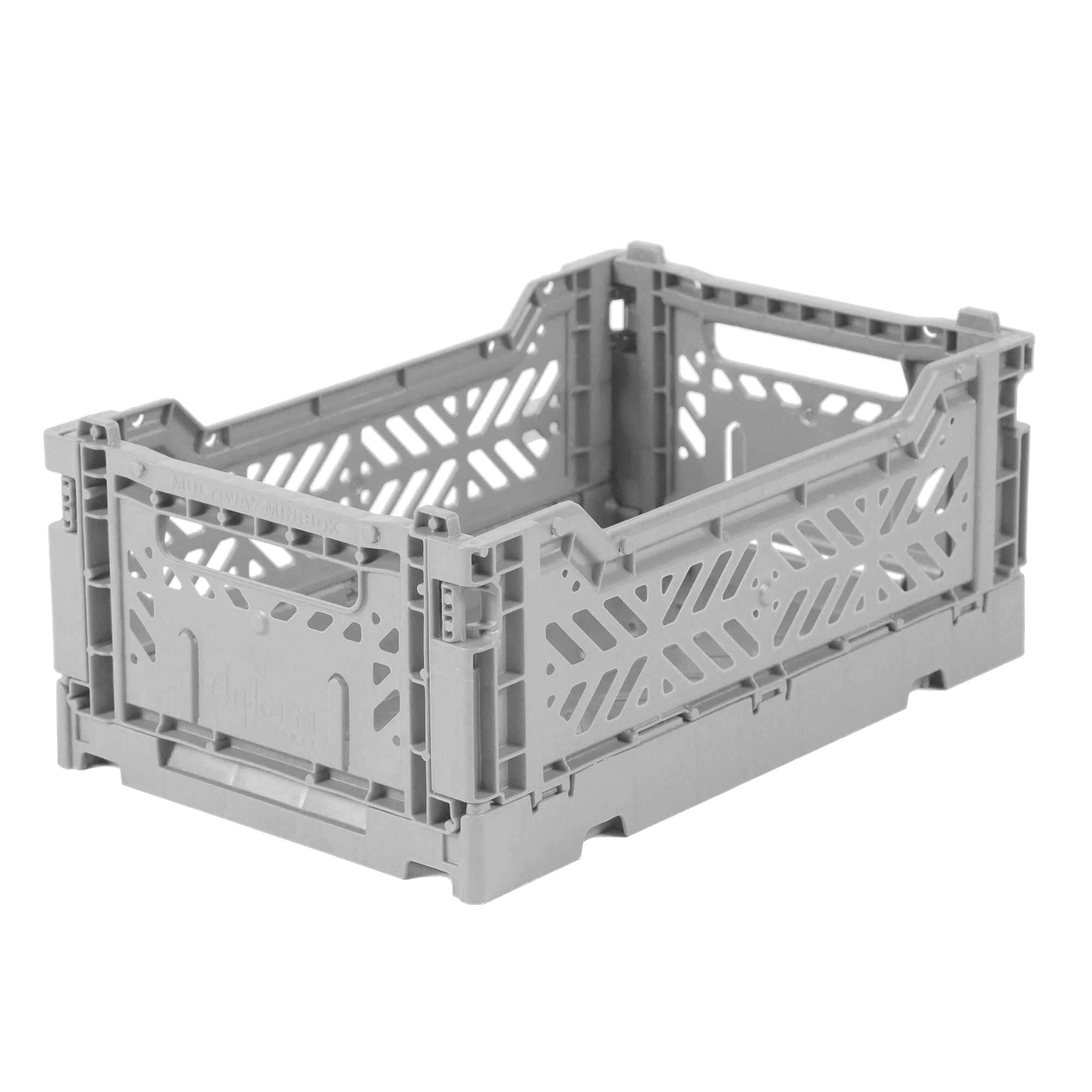 Eef Lillemor Folding Crate Mini - Grey