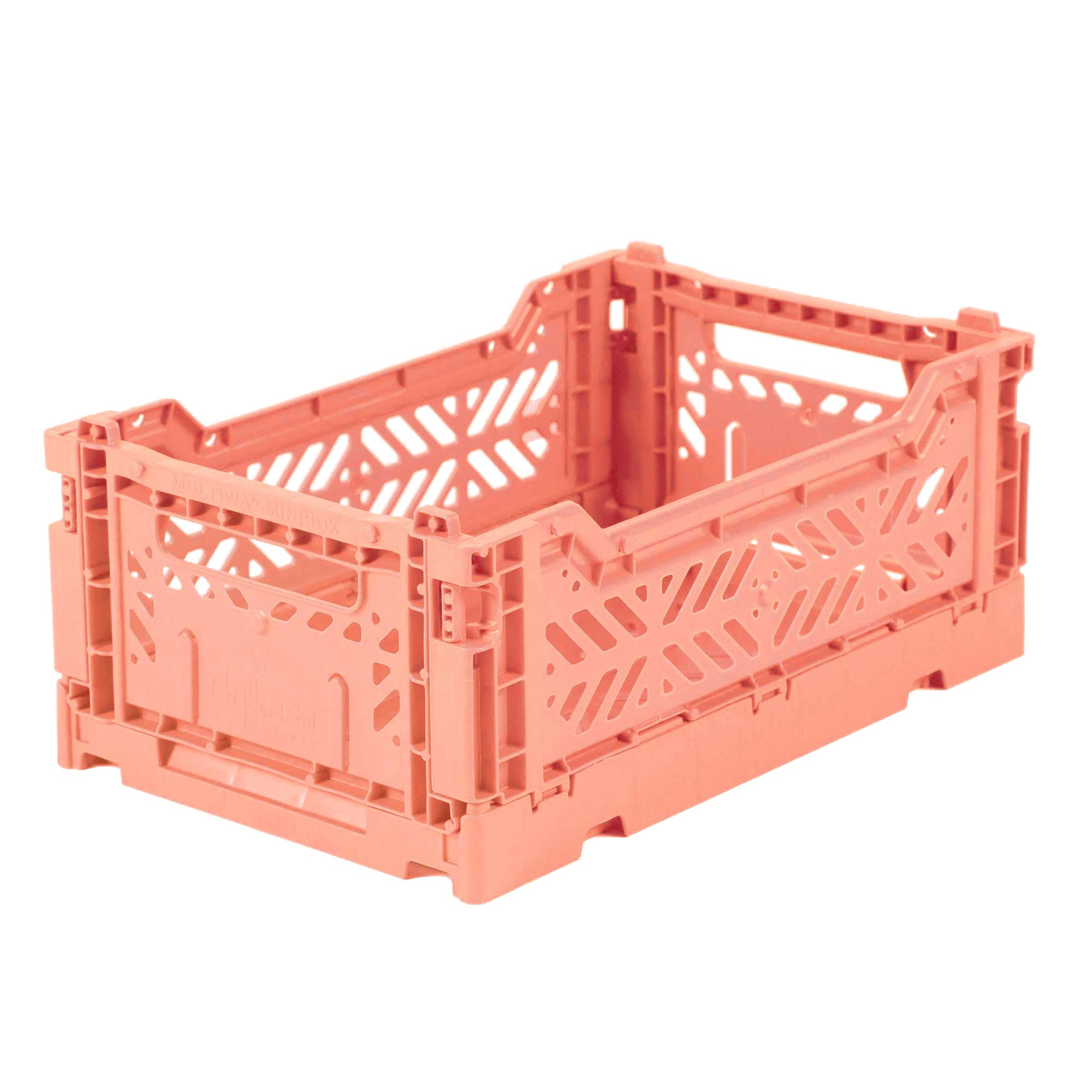 Eef Lillemor Folding Crate Mini - Salmon Pink